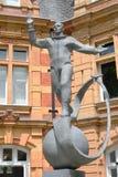 Yuri gagarin statue greenwich Stock Photography