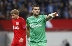 Yuri Lodygin  Bayer 04 Leverkusen v Zénith Saint-Pétersbourg Champion League Royalty Free Stock Photos