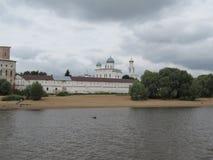 Yuriev-Kloster lizenzfreie stockbilder