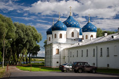 Yuriev Monastery Royalty Free Stock Images