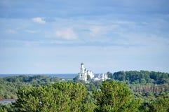 Yuriev Monastery in Veliky Novgorod, Russia Royalty Free Stock Photo
