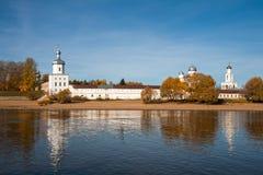 Yuriev monastery, Veliky Novgorod, Russia Stock Images