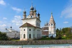 Yuriev Polskiy, Russie, monastère de Mikhailo-Arkhangelsky photos libres de droits