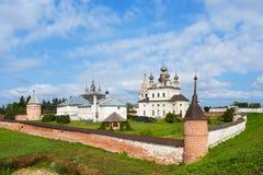 Yuriev Polskiy, Russie, monastère de Mikhailo-Arkhangelsky images libres de droits