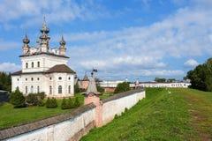 Yuriev Polskiy, Russie, monastère de Mikhailo-Arkhangelsky image stock