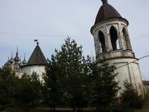 Yuriev Polsky, Russia, Mikhailo-Arkhangelsky monastery, cold spring. Yuriev Polsky, Russia, Mikhailo-Arkhangelsky monastery cold spring stock photo