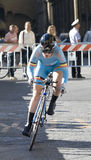 Yurieva Polina, Ukraine. UCI road world championshi Royalty Free Stock Photos