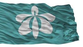 Yurihonjo miasta flaga, Japonia, Akita prefektura, Odizolowywająca Na Białym tle ilustracja wektor