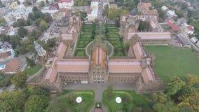 Yuriy Fedkovych Chernivtsi National University. Chernovtsi, Europe. Royalty Free Stock Images