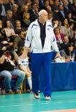 Yuriy Panchenko, primo allenatore del gruppo di Dinamo Mosca Fotografia Stock Libera da Diritti