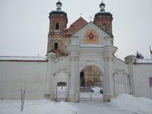 Yurovichsky kloster arkivfoto
