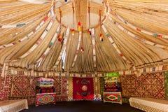 Yurt的框架 免版税库存照片