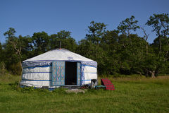 Yurt – a mongolian ger Stock Photos