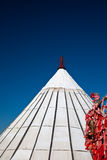 Yurt. Nomad's tent is the national dwelling of Inner Mongolia Royalty Free Stock Image
