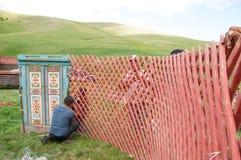 yurt Lizenzfreie Stockbilder