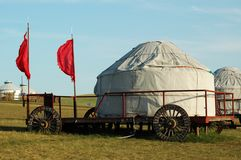 Yurt Royalty Free Stock Photo