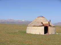Yurt chirghiso Immagini Stock Libere da Diritti