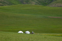 yurt de prairies Images stock