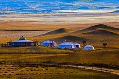 Yurt do Mongolian Fotografia de Stock Royalty Free