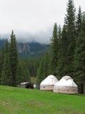 Yurt em Quirguistão Fotos de Stock