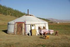 Yurt en Mongolia Imagen de archivo libre de regalías