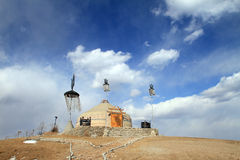 Yurt in Inner Mongolia China Stock Photo