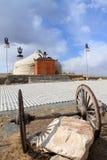 Yurt in Inner Mongolia China Stock Photo