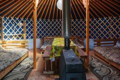 Yurt interior Royalty Free Stock Images