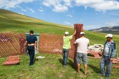 Yurt Royalty Free Stock Photography