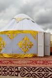 Yurt Kazakstan stockfoto