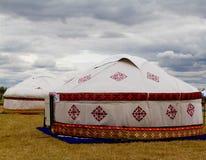 Yurt Kazakstan lizenzfreie stockfotos