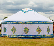 Yurt Kazakstan Stockfotos