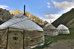 Yurt royalty free stock photo