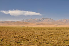 Yurt in Kyrgyzstan Royalty Free Stock Photography