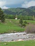 Yurt in Kyrgyzstan Royalty Free Stock Image