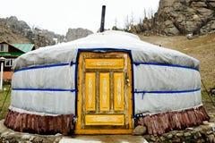 Yurt - Mongólia imagens de stock