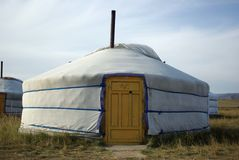 Yurt in Mongolia Stock Images