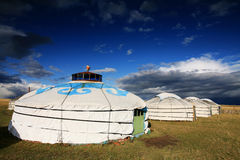 Yurt - Nomad's tent Stock Image