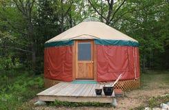 Yurt in Paradijs Royalty-vrije Stock Afbeeldingen