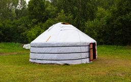 Yurt of steppe nomad royalty free stock images