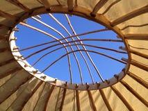 Yurt tak Fotografering för Bildbyråer