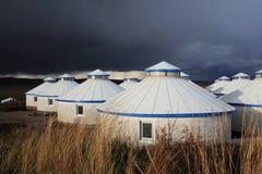Yurt - Zelt des Nomaden lizenzfreies stockfoto