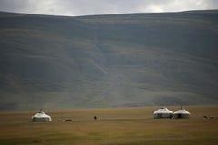 Yurts Stock Image