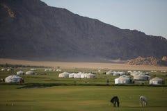 yurts Стоковые Изображения RF