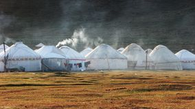 Yurts Stock Photography