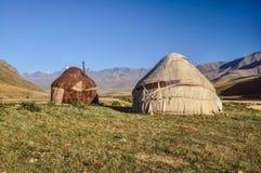 Yurts i Kirgizistan Royaltyfria Foton