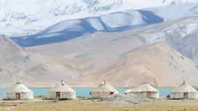 Free Yurts In Xinjiang  Stock Image - 215083761