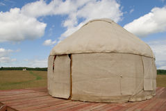 Yurts replicas Royalty Free Stock Photography