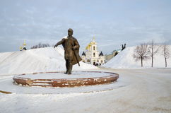 Yury Dolgoruky Monument Imagens de Stock