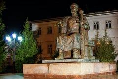 Yury Dolgoruky Monument in Kostroma Rusland Royalty-vrije Stock Foto's